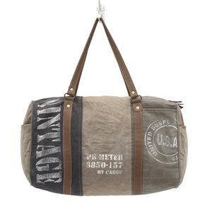 "🆕Unisex-Vintage ""USA"" traveler bag"